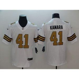 Shirts & Tops - Youth New Orleans Saints Alvin Kamara Jersey (1)